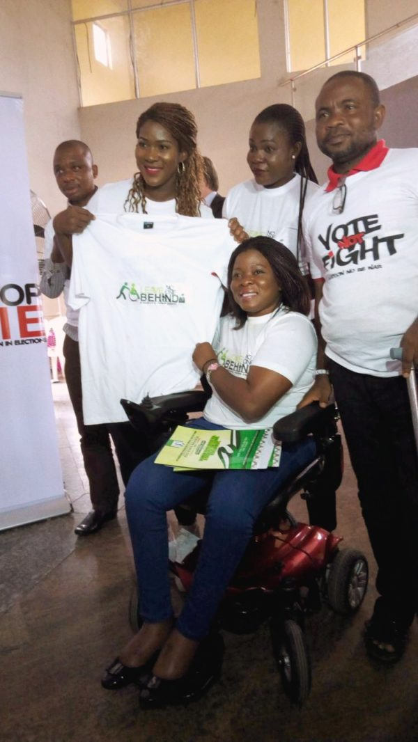"""Star Actress Stephanie Linus Kicks Off """"Stop Violence Against Women in Elections"""" Campaign"""