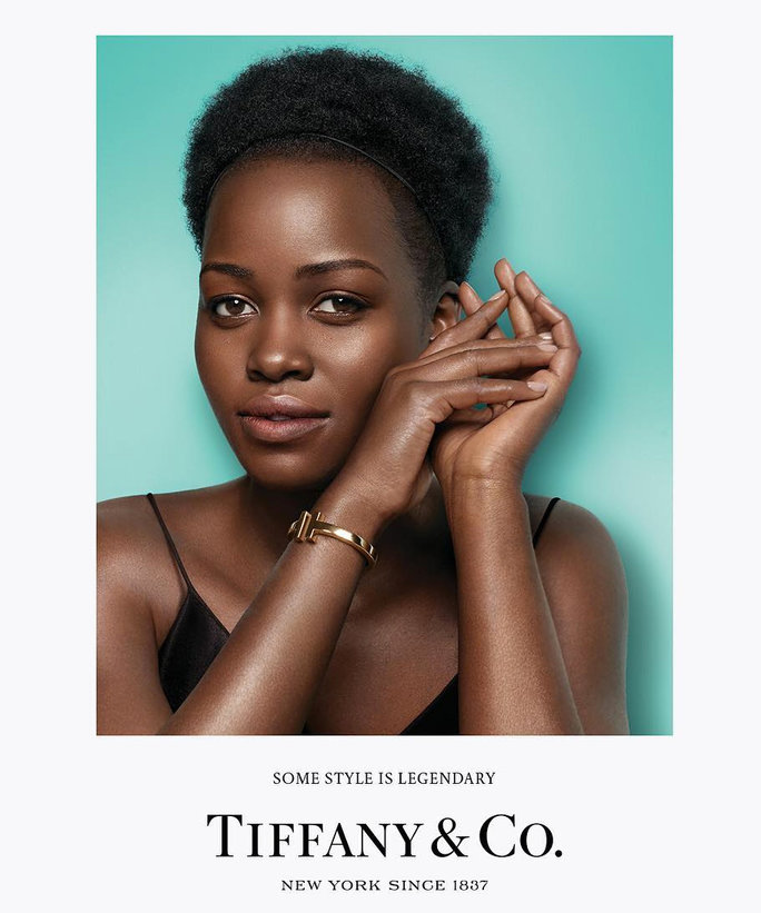Lupita Nyong'o joins campaign of Tiffany & Co.'s First-Ever Celebrity Faces