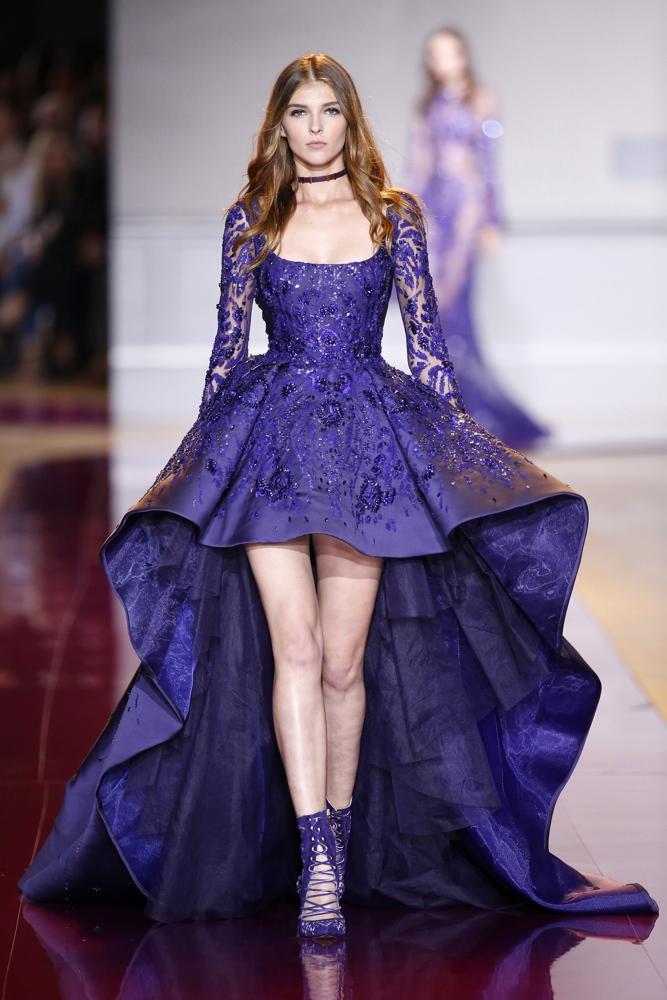 Zuhair Murad at Paris Fashion Week Haute Couture Fall / Winter 2016