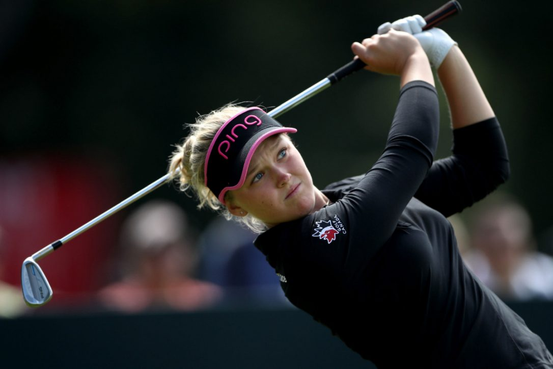 Mirim Lee leads women's British Open after Day 1