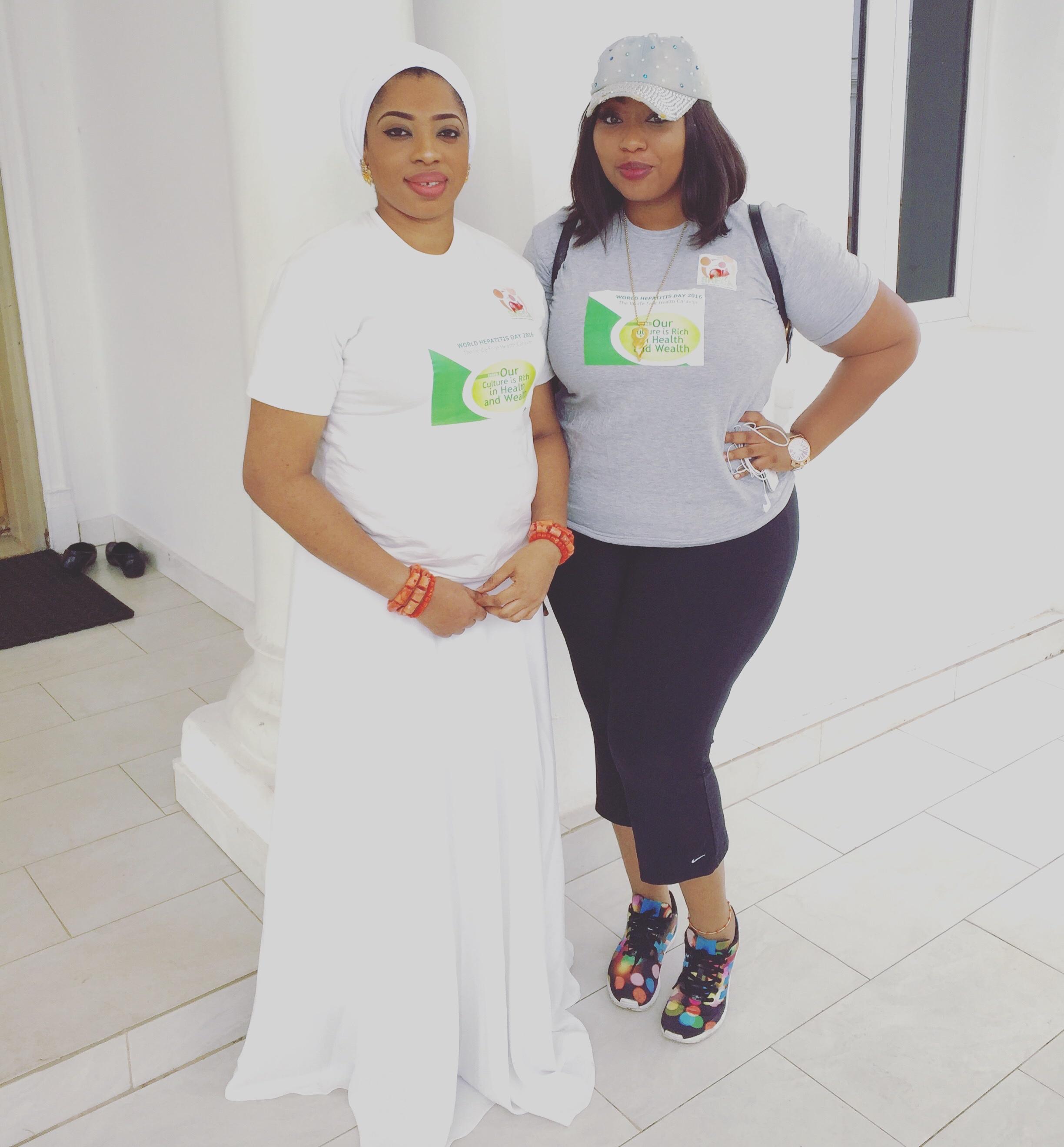 World Hepatitis Day: Olori Wuraola Ogunwusi leads Walk to Raise Hepatitis Awareness