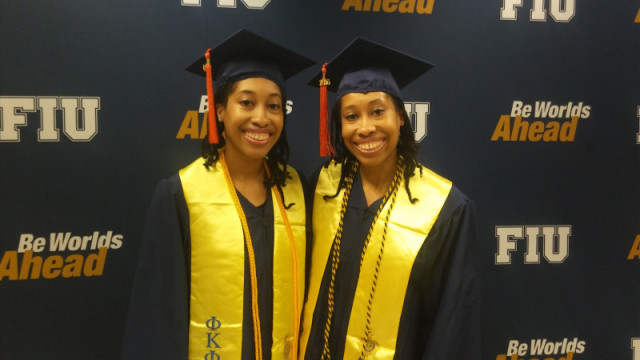 Black Identical Twins Shonda and Shalisha Witherspoon Each Had the Highest GPA at FIU's College of Engineering and Computing