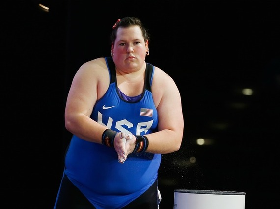 What Seeing Big Women In The Olympics Means To Me