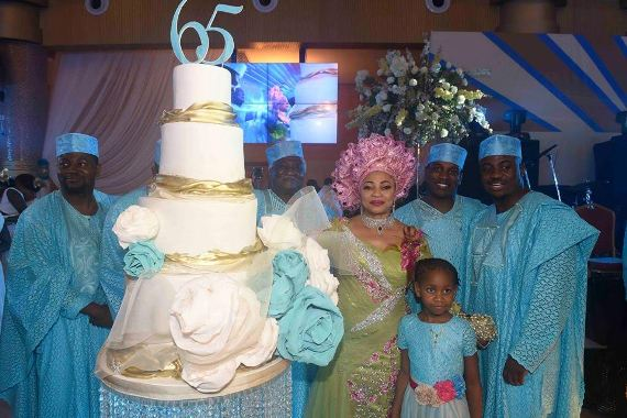 """""""I don't believe in luck, I believe in God"""" Folorunsho Alakija shares inspiring words and photos from her 65th birthday party"""