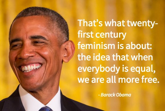 Barack Obama Wrote An Essay About Feminism Every Man Needs To Read