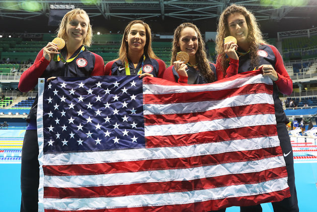 U.S. Women's 4 x 200 Meter Freestyle Relay To Another Gold