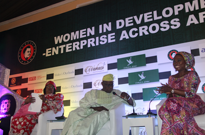 Women Leardership will bridge the gender gap in Africa – Joyce Banda at the Murtala Muhammed Foundation Women's Power Lunch