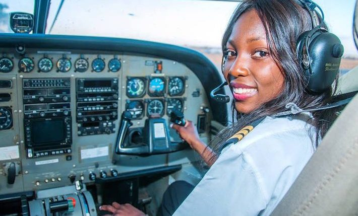This 19 Year Old Zambian Teenager is one of the Youngest Commercial Pilots in the World