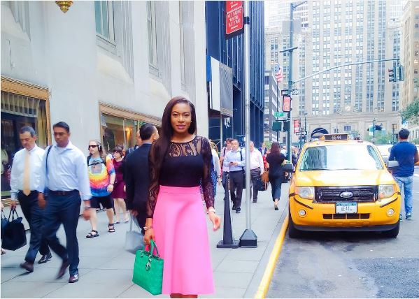 Chika Ike takes New York! Photos from her Vacation