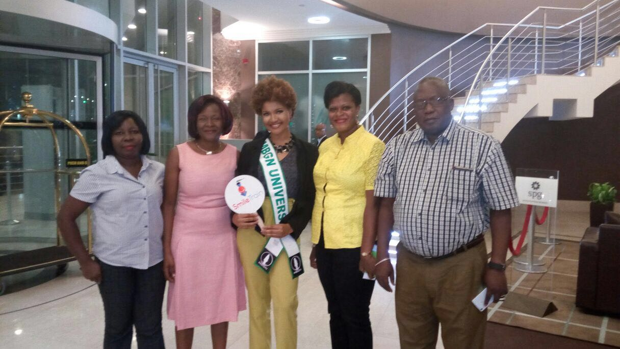 MBGN Universe Debbie Collins named as Goodwill Ambassador for Smile Train West Africa