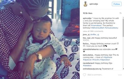 Di'Ja releases photo of newborn baby on her Instagram