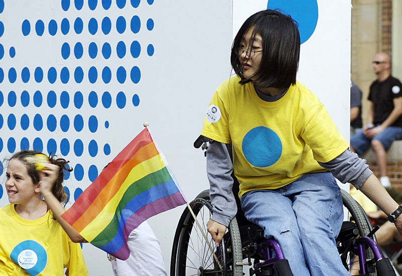 Teen with Cerebral Palsy Finds Acceptance in LGBTQ+ Community