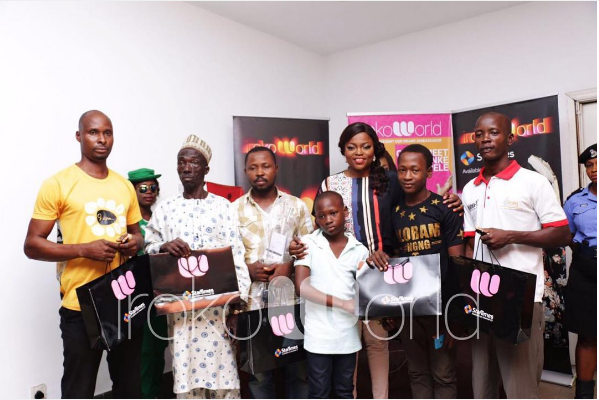 IrokoWorld Global Ambassador Funke Akindele Hold Meet-and-Greet with Fans across Lagos
