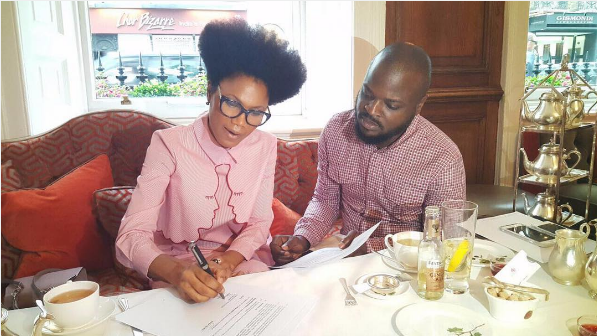 Award-winning Broadcaster Funmi Iyanda Inks New Deal with Temple Management Company