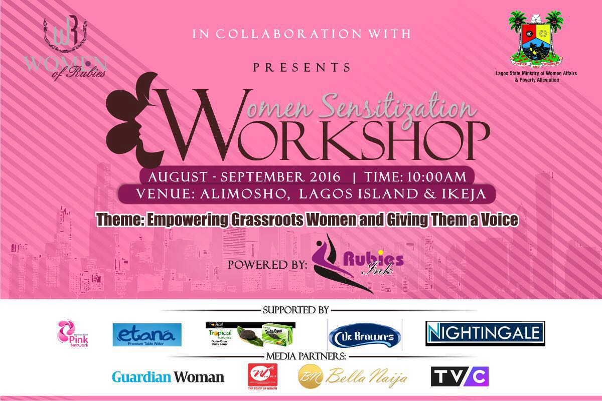 'Women of Rubies' is set to Empower Women at the Grassroots and give them a Voice! Find out how you can be a part of it