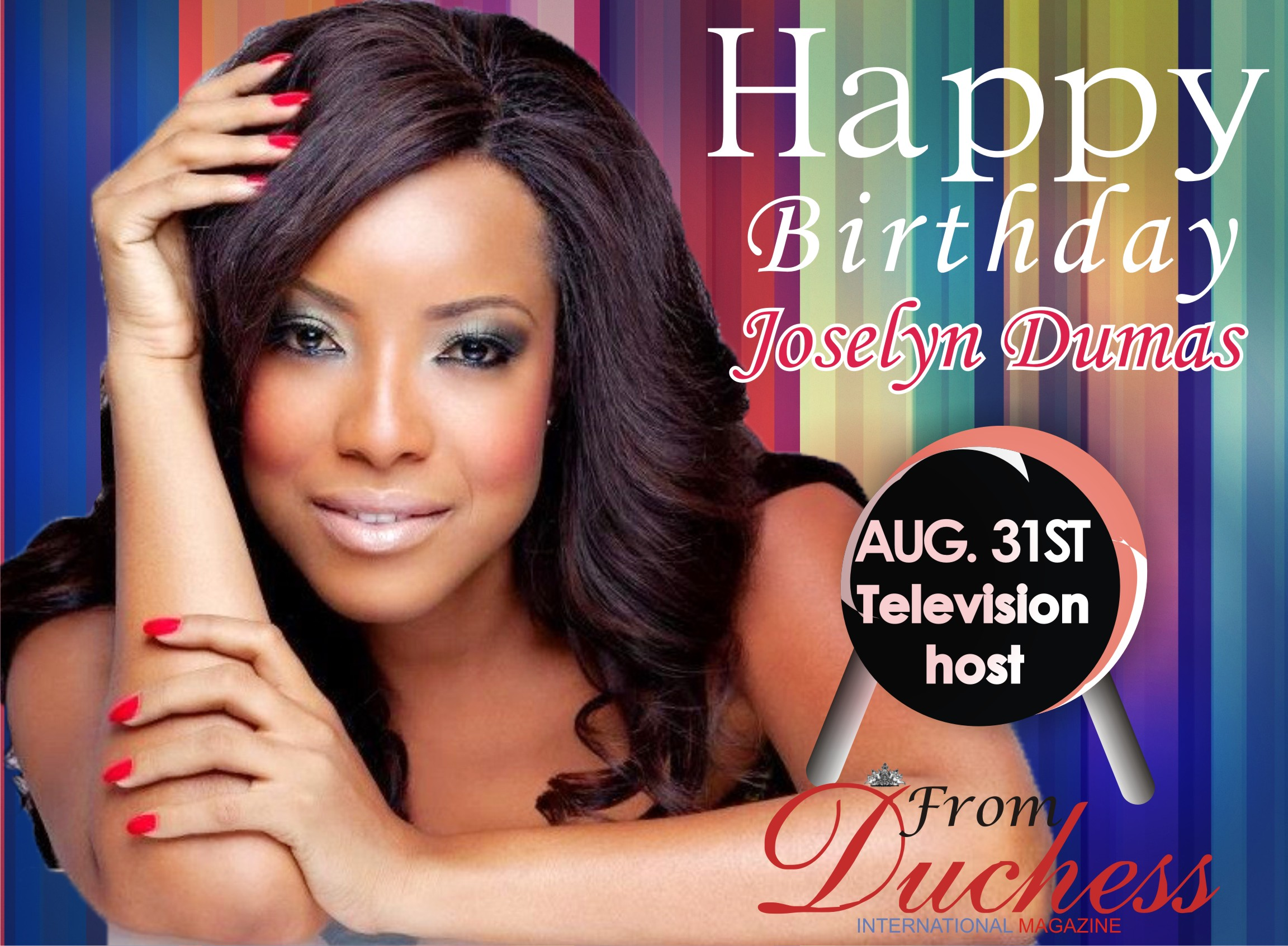 HAPPY BIRTHDAY TO A SCREEN DIVA-JOSELYN DUMAS