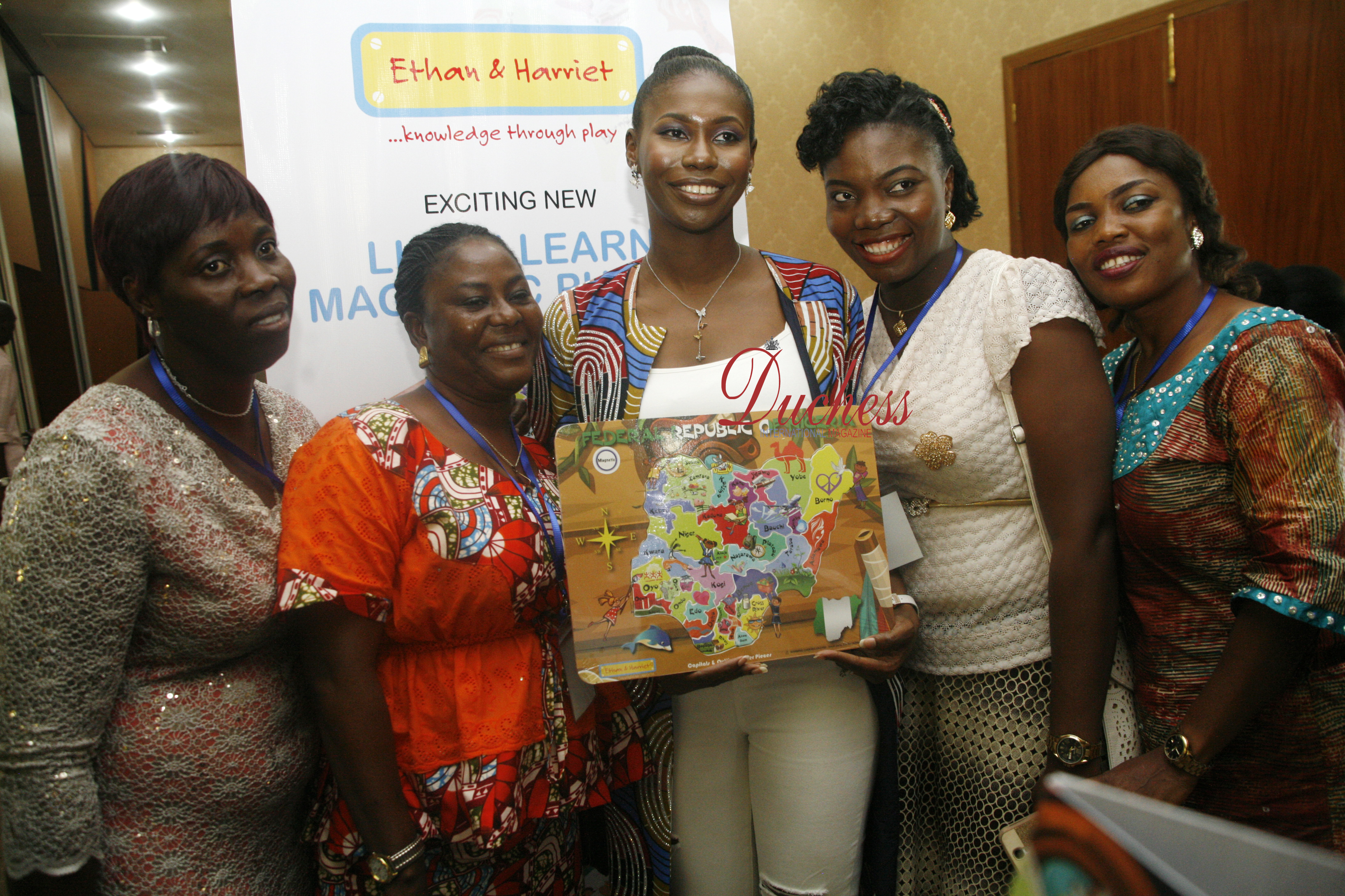 Nigeria's Leading Educational Toy Company, Ethan & Harriet, Officially Launched Its Range Of Toys