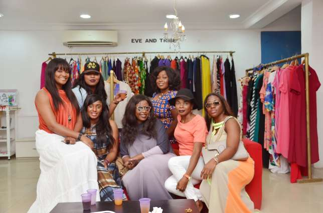 Lanre Da-Silva, Mai Atafo, Dakore Akande, others had pieces from their wardrobe on sale.