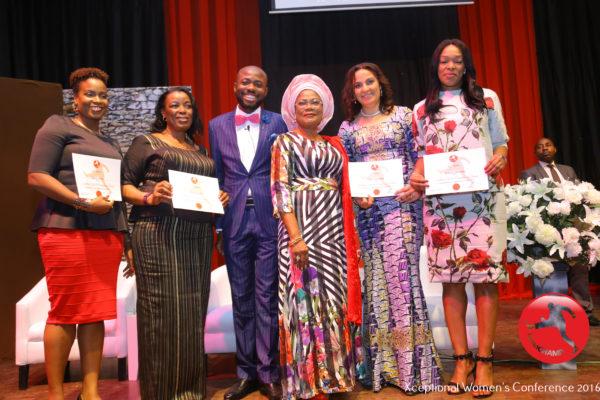 See Photos of Grace Laoye-Tomori, Prof. Remi Shonaiya, Funmi Ajose-Adeogun and more at Abiola Salami's Xceptional Women Conference 2016