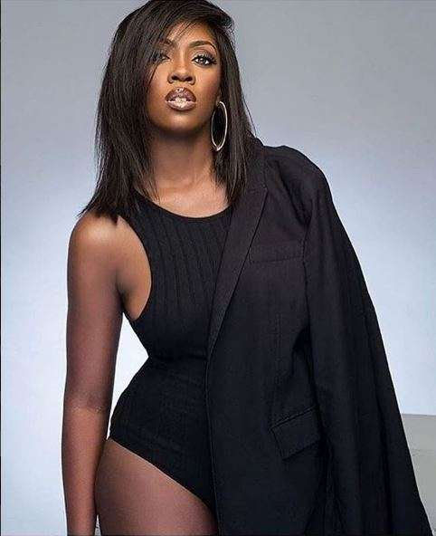Tiwa Savage is fierce for the latest edition of Elle Magazine SA