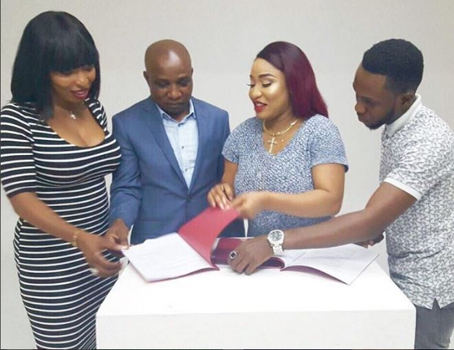 "Tonto Dikeh-Churchill is now a ""Nature Essence USA"" Ambassador"