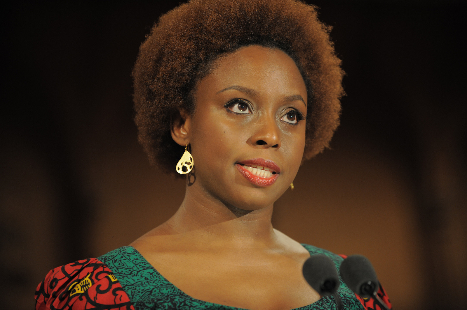 """I think the world in general has complicated feelings about women in authority""- Chimamanda Adichie on how Hillary Clinton is Portrayed in the Media"