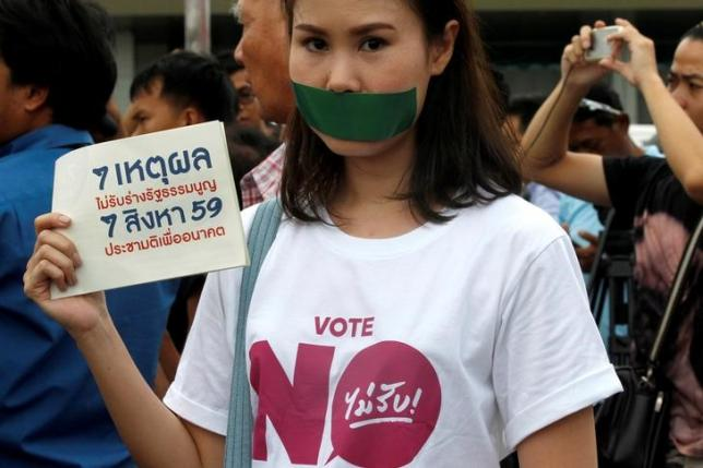 Thai police charge two eight-year-old girls who tore down pink lists