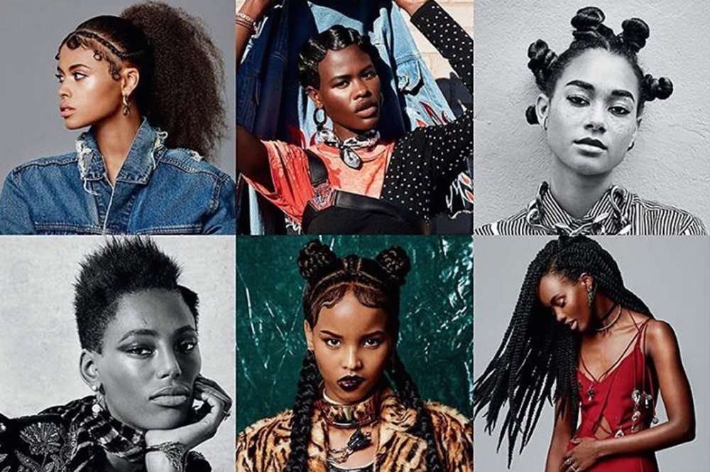 ELLE Canada Pays Homage to Black Women's Hair with Gorgeous Black Models