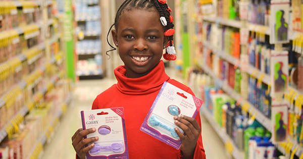 Wow! Nine-Year Old CEO Raises $28,000 on Kickstarter to Manufacture Her New Hair Accessory Solution, GaBBY Bows
