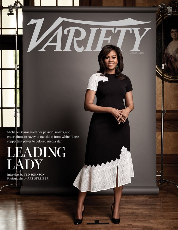 """Michelle Obama is the """"Leading Lady"""" for Variety Magazine's Latest Issue"""