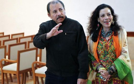 Nicaraguan President names his wife as his running mate as he runs for a third term