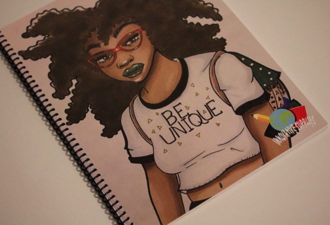 Take Nneka, a 27 Year-Old Single Mom and Veteran, Creates Line of Black-Themed School Supplies