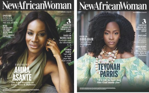 Amma Asante & Teyonah Parris are the Cover Stars of New African Woman Magazine's August/September Issue