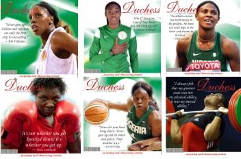 """OUR GREAT NIGERIAN WOMEN IN SPORTS, """"SPEAK UP, EVEN IF YOUR VOICES SHAKE."""""""