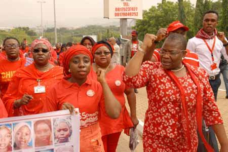 Chibok girls: BBOG members plan several marches to the presidency