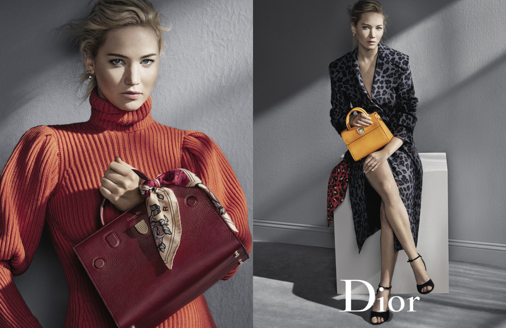 Stunning Actress Jennifer Lawrence features in Dior's Fall 2016 Ad Campaign
