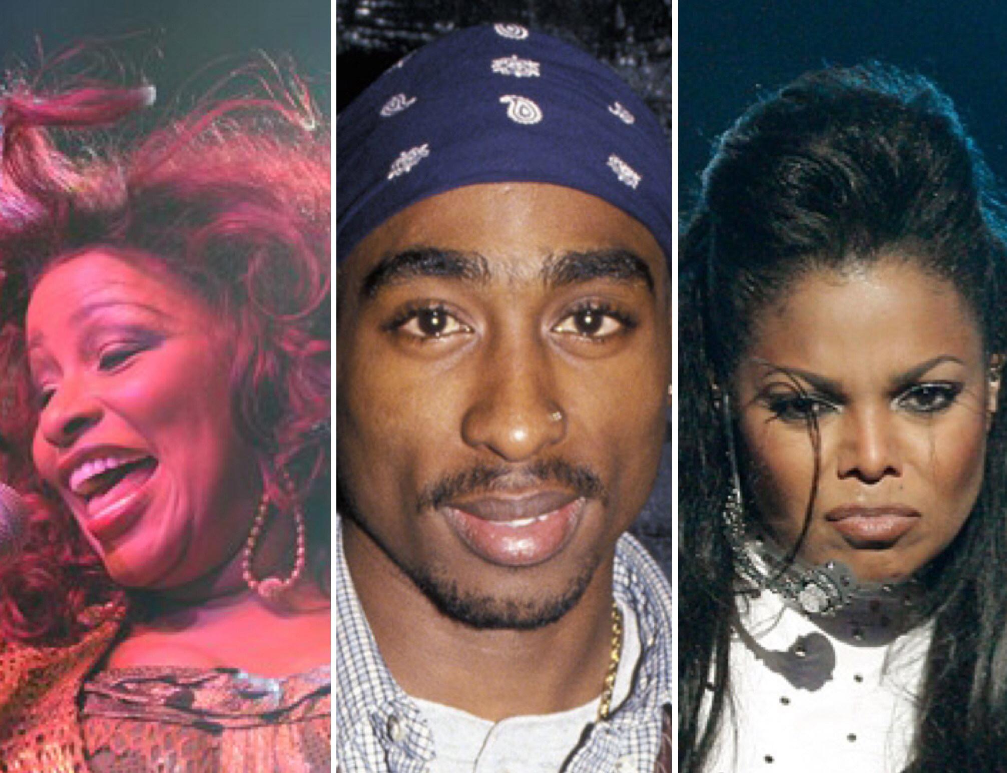 Chaka Khan, Janet Jackson, Tupac Shakur and Chic Among 2017 Rock & Roll Hall of Fame Nominees
