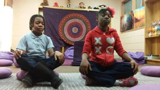 Baltimore Elementary School Successfully Replaces Detention with Meditation