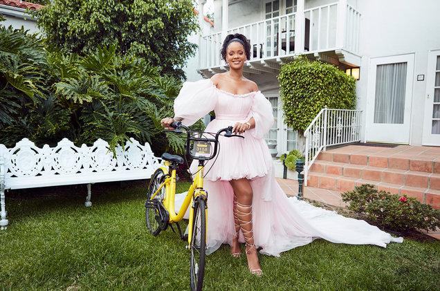 Rihanna Launches Bike Program for Girls in Malawi