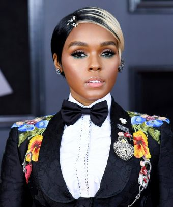 The Important Detail You Missed In Janelle Monáe's Grammys Look