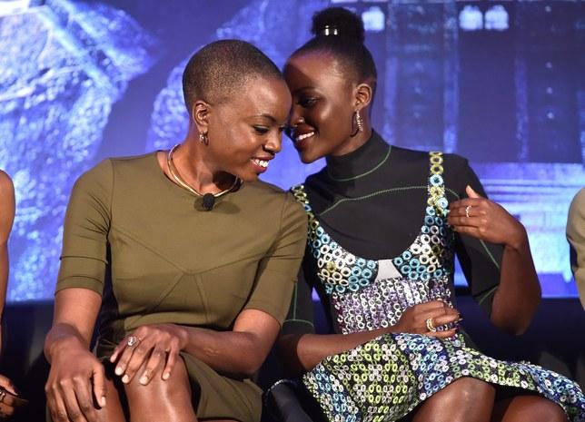 'Black Panther' Stars Lupita Nyong'o and Danai Gurira Are Each Other's Biggest Fangirls
