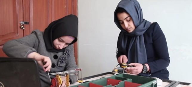 This All-Girl Robotics Team From Afghanistan Was Denied U.S. Visas