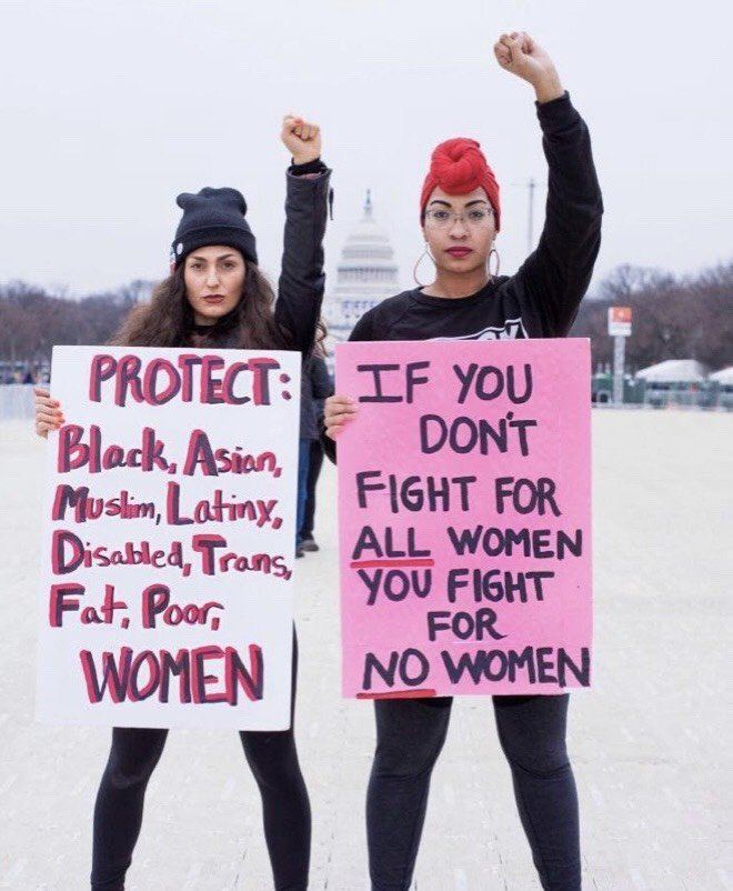 This Photo Of Me At The Women's March Went Viral And Changed My Activism Forever