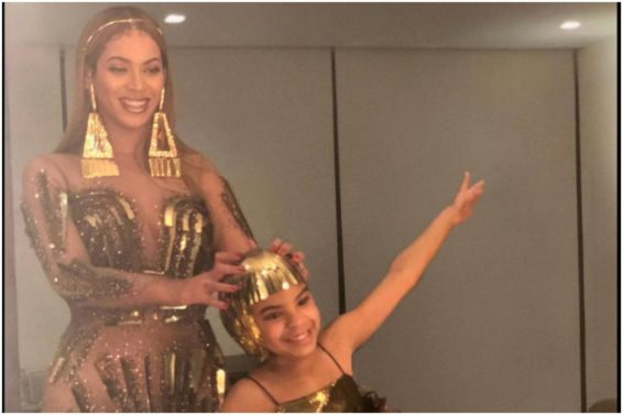 Beyoncé and Blue Ivy Bring High Fashion to Wearable Art Gala (PHOTOS)