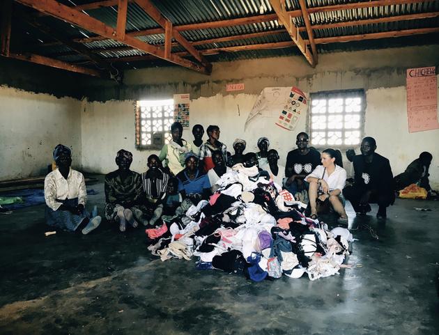 Meet The Entrepreneur Taking Hundreds Of Bras From London To Edinburgh To Help Women In Africa