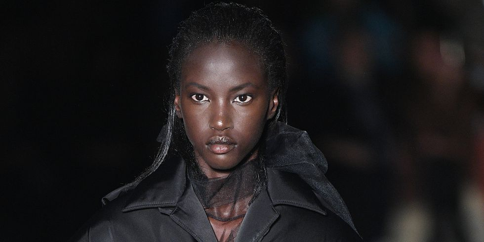 Anok Yai Becomes 1st Black Model since Naomi Campbell to Open the Prada Show at Milan Fashion Week