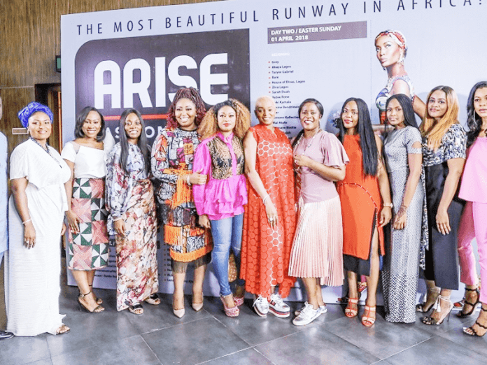 Lanre Da-Silva, Abaya, About that Curvy Life Open ARISE Fashion Week