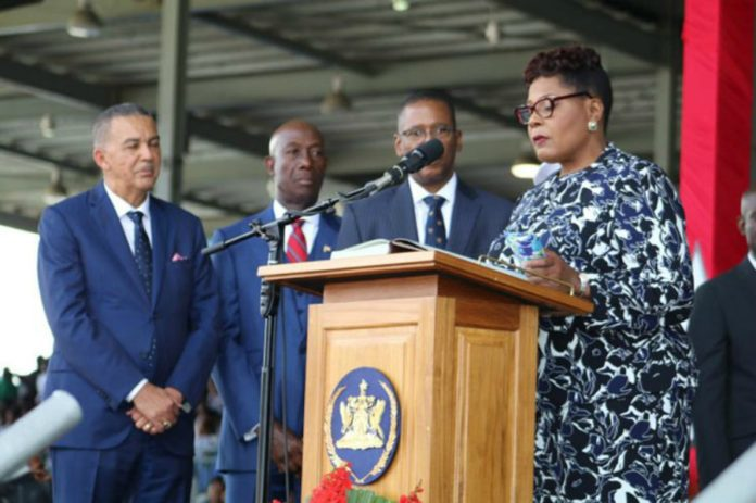 Paula Mae Weekes, The 1st Woman President of Trinidad and Tobago, Takes Office