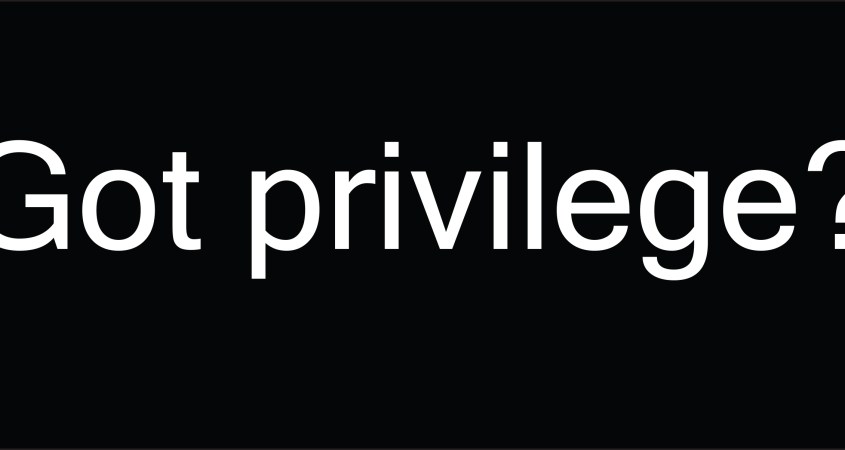 EDITORIAL: What I Said When My White Friend Asked for My Black Opinion on White Privilege