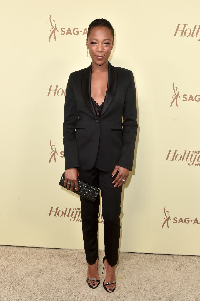 Issa Rae, Trevor Noah, Thandie Newton, Samira Wiley, Tracee Ellis Ross attend Pre-Emmy Award Celebrations